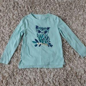 Gap toddler.girl ong sleeved shirts